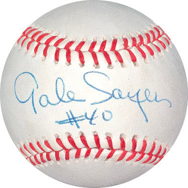 Gale Sayers signed ROAL Rawlings Official American League Baseball- JSA Hologram #DD64425 PSM-Powers Sports Memorabilia