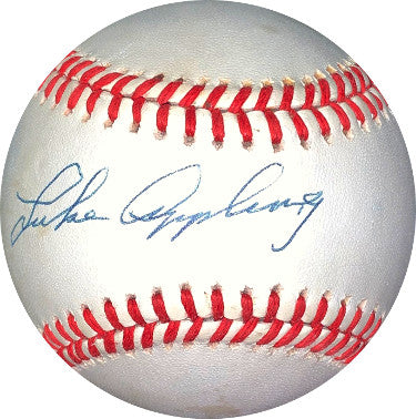 Luke Appling signed ROAL Rawlings Official American League Baseball minor tone- JSA Hologram #DD64434 (Chicago White Sox) PSM-Powers Sports Memorabilia