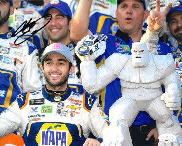 Chase Elliott signed NASCAR NAPA Auto Parts Dover Monster Mile 8x10 Photo- JSA Hologram #EE62707 PSM-Powers Sports Memorabilia