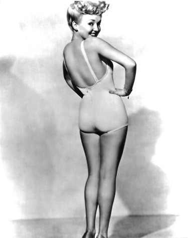 Betty Grable unsigned Vintage B&W 8x10 Photo PSM