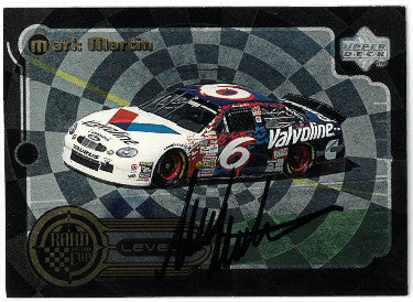 Mark Martin signed 1999 Upper Deck NASCAR Road to the Cup Racing Trading Card #RTTC2 PSM-Powers Sports Memorabilia