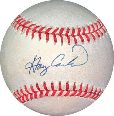 Gary Carter signed RONL Rawlings Official National League Baseball- JSA Hologram #EE62965 (New York Mets) PSM-Powers Sports Memorabilia