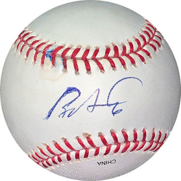 Ryan Howard signed Rawlings Official Major League Baseball #6 sig trace- JSA Hologram #EE60322 (Philadelphia Phillies) PSM-Powers Sports Memorabilia
