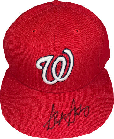 Stephen Strasburg signed Washington Nationals New Era Authentic Collection Fitted Cap- JSA Hologram #HH18396 PSM-Powers Sports Memorabilia