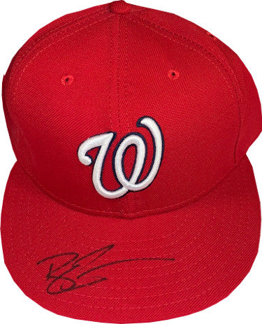 Ryan Zimmerman signed Washington Nationals New Era Authentic Collection Fitted Cap- JSA Hologram #HH18395 PSM-Powers Sports Memorabilia