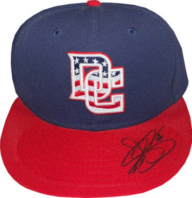 Drew Storen signed Washington Nationals New Era Authentic Collection Fitted Cap- JSA Hologram #HH18410 PSM-Powers Sports Memorabilia