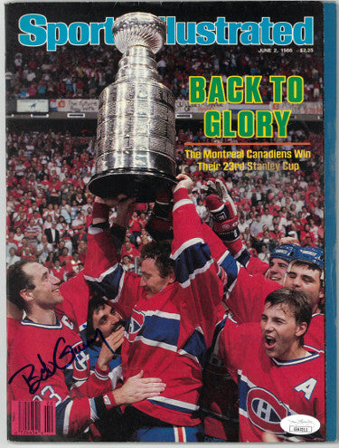 Bob Gainey signed Sports Illustrated Full Magazine June 2, 1986- JSA #EE63211 (Montreal Canadiens/Stanley Cup) PSM-Powers Sports Memorabilia