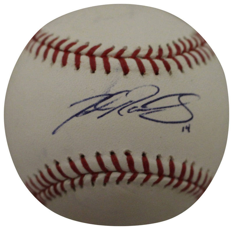 Josh Rutledge Autographed/Signed Colorado Rockies OML Baseball BAS PSM-Powers Sports Memorabilia