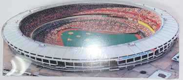 Cincinnati Reds 2002 CINERGY FIELD Riverfront 3D Diecut Stadium Souvenir HomeField MLB – Brand New PSM-Powers Sports Memorabilia