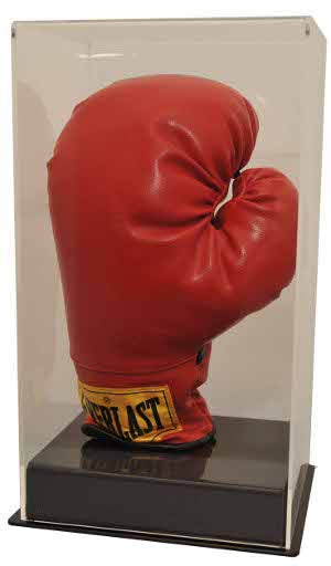 Boxing Glove Deluxe Display Case PSM-Powers Sports Memorabilia
