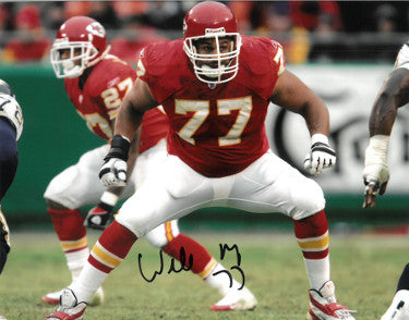 Willie Roaf signed Kansas City Chiefs 8x10 Photo #77 PSM-Powers Sports Memorabilia