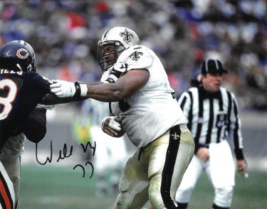Willie Roaf signed New Orleans Saints 8x10 Photo #77 PSM-Powers Sports Memorabilia