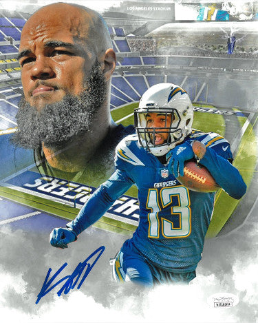 Keenan Allen signed Los Angeles/San Diego Chargers Collage 8x10 Photo- JSA Witnessed PSM-Powers Sports Memorabilia