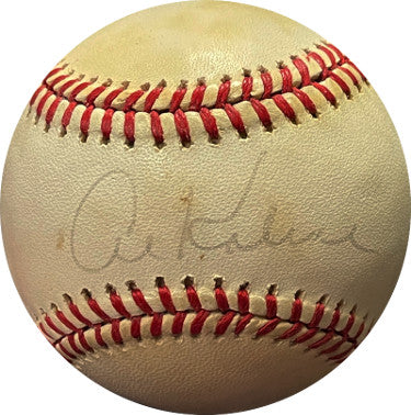 Al Kaline signed ROAL Rawlings Official American League Baseball toned/faded sig (Detroit Tigers) PSM-Powers Sports Memorabilia