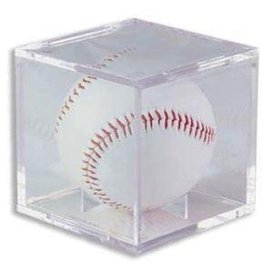 Baseball Holder- Case of 2 PSM-Powers Sports Memorabilia