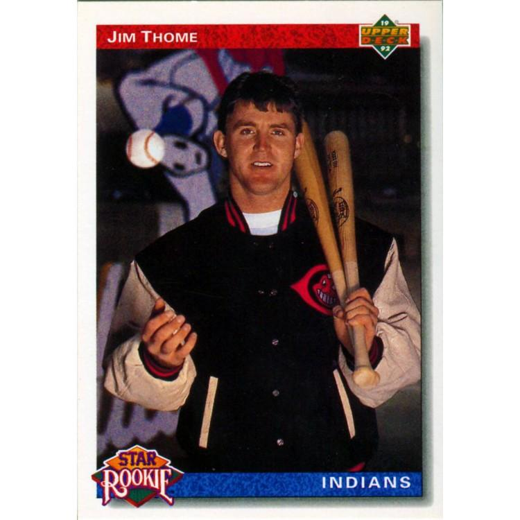 Jim Thome Unsigned 1991 Upper Deck Card PSM-Powers Sports Memorabilia