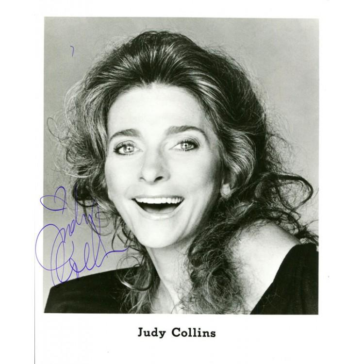 Judy Collins Autographed 8x10 Photo PSM-Powers Sports Memorabilia