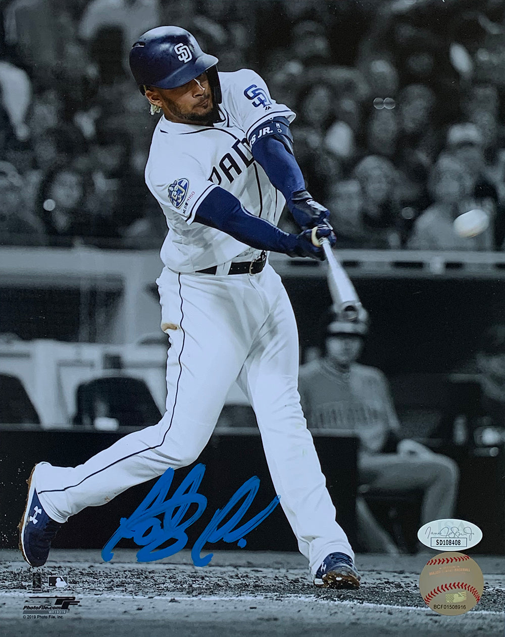 Fernando Tatis Jr. San Diego Padres Signed 8x10 Baseball Spotlight Photo JSA PSM
