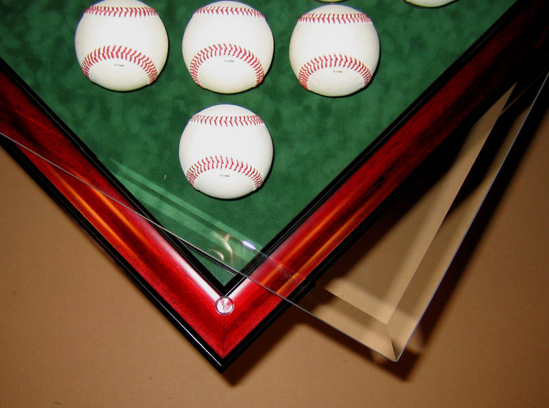 HOMEPLATE HEROES HOMEPLATE SHAPED END TABLE-Powers Sports Memorabilia
