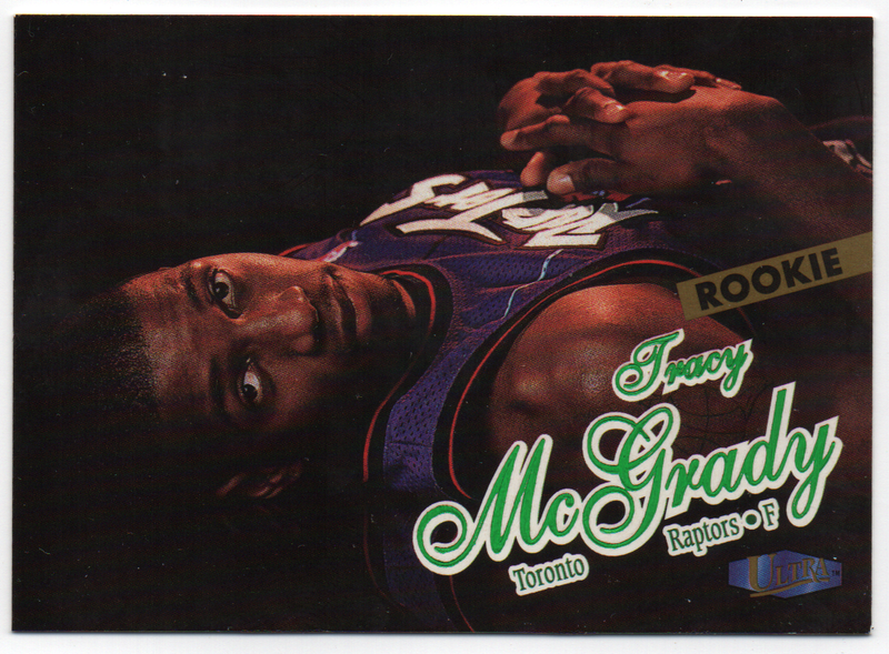 Tracy McGrady 1997-98 Fleer Ultra Rookie Card PSM-Powers Sports Memorabilia