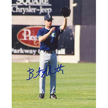 Brent Abernathy Knoxville Smokies - Blue Jays Affiliate Autographed 8x10 Photo. This item comes with a certificate of authenticity from Autograph-Sports. PSM-Powers Sports Memorabilia