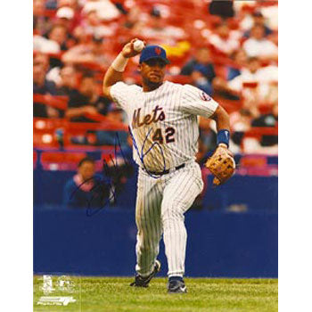 Butch Huskey New York Mets Autographed 8x10 Photo. This item comes with a certificate of authenticity from Autograph-Sports. PSM-Powers Sports Memorabilia