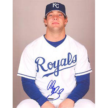Alex Gordon Kansas City Royals Autographed 8.5x11 Photo. This item comes with a certificate of authenticity from Autograph-Sports. PSM-Powers Sports Memorabilia