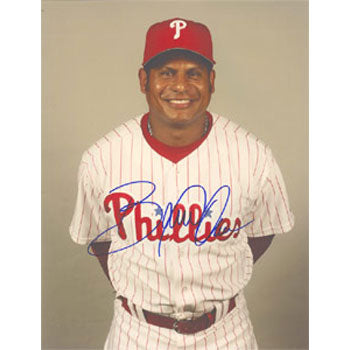 Bobby Abreu Philadelphia Phillies Autographed 8.5x11 Photo. This item comes with a certificate of authenticity from Autograph-Sports. PSM-Powers Sports Memorabilia