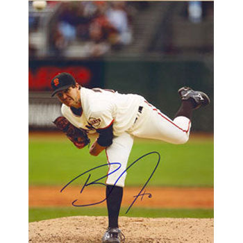 Barry Zito San Francisco Giants Autographed 8.5x11 Photo. This item comes with a certificate of authenticity from Autograph-Sports. PSM-Powers Sports Memorabilia