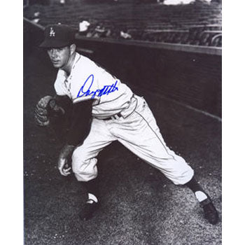 "Danny McDevitt Los Angeles Dodgers Autographed 8x10 Photo. Inscribed ""1959 WS Champs"" This item comes with a certificate of authenticity from Autograph-Sports. PSM-Powers Sports Memorabilia"