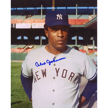 Alex Johnson New York Yankees Autographed 8x10 Photo. This item comes with a certificate of authenticity from Autograph-Sports. PSM-Powers Sports Memorabilia