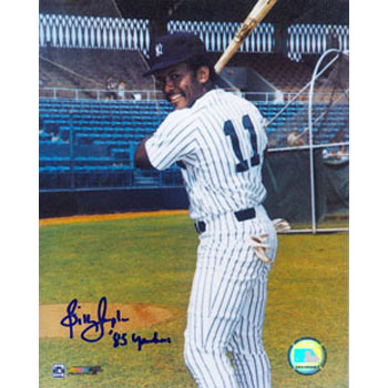 "Billy Sample New York Yankees Autographed 8x10 Photo. Inscribed ""85 Yankees"" This item comes with a certificate of authenticity from Autograph-Sports. PSM-Powers Sports Memorabilia"