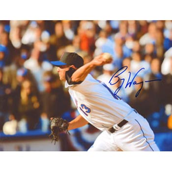 Billy Wagner New York Mets Autographed 8.5x11 Photo. This item comes with a certificate of authenticity from Autograph-Sports. PSM-Powers Sports Memorabilia
