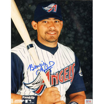 Bengie Molina Anaheim Angels Autographed 8x10 Photo. This item comes with a certificate of authenticity from Autograph-Sports. PSM-Powers Sports Memorabilia