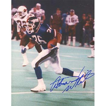 Adrian White New York Giants Autographed 8x10 Photo. This item comes with a certificate of authenticity from Autograph-Sports. PSM-Powers Sports Memorabilia
