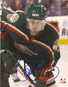 Cliff Ronning Minnesota Wild Autographed 8x10 Photo. This item comes with a certificate of authenticity from Autograph-Sports. PSM-Powers Sports Memorabilia