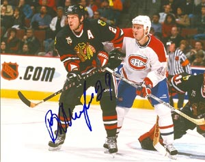 Boris Mironov Chicago Blackhawks Autographed 8x10 Photo. This item comes with a certificate of authenticity from Autograph-Sports. PSM-Powers Sports Memorabilia