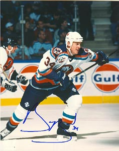 Bryan Berard New York Islanders Autographed 8x10 Photo. This item comes with a certificate of authenticity from Autograph-Sports. PSM-Powers Sports Memorabilia