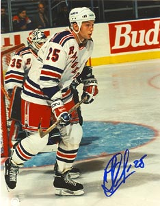 Alexander Karpovtsev New York Rangers Autographed 8x10 Photo. This item comes with a certificate of authenticity from Autograph-Sports. PSM-Powers Sports Memorabilia