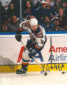 Zigmund Palffy New York Islanders Autographed 8x10 Photo. This item comes with a certificate of authenticity from Autograph-Sports. PSM-Powers Sports Memorabilia