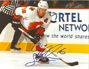 Cory Stillman Calgary Flames Autographed 8x10 Photo. This item comes with a certificate of authenticity from Autograph-Sports. PSM-Powers Sports Memorabilia
