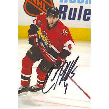 Chris Phillips Ottawa Senators Autographed 4x6 Photo. This item comes with a certificate of authenticity from Autograph-Sports. PSM-Powers Sports Memorabilia