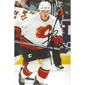 Andrew Ference Calgary Flames Autographed 4x6 Photo. This item comes with a certificate of authenticity from Autograph-Sports. PSM-Powers Sports Memorabilia