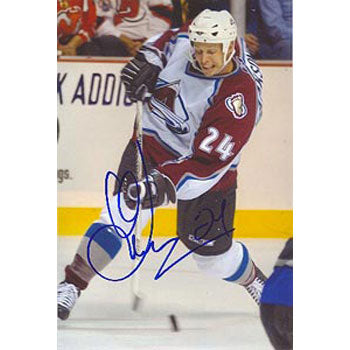 Antti Laaksonen Colorado Avalanche Autographed 4x6 Photo.  This item comes with a certificate of authenticity from Autograph-Sports.