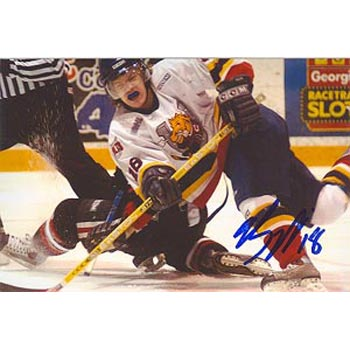 Bryan Little Barrie Colts Autographed 4x6 Photo. This item comes with a certificate of authenticity from Autograph-Sports. PSM-Powers Sports Memorabilia