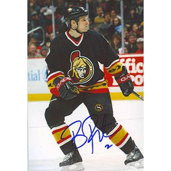 Brian Pothier Ottawa Senators Autographed 4x6 Photo. This item comes with a certificate of authenticity from Autograph-Sports. PSM-Powers Sports Memorabilia
