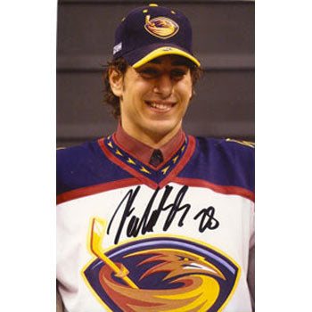 Boris Valabik Atlanta Thrashers Autographed 4x6 Photo. This item comes with a certificate of authenticity from Autograph-Sports. PSM-Powers Sports Memorabilia