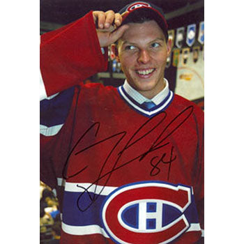 Corey Locke Montreal Canadiens Autographed 4x6 Photo. This item comes with a certificate of authenticity from Autograph-Sports. PSM-Powers Sports Memorabilia
