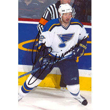 Aris Brimanis St. Louis Blues Autographed 4x6 Photo. This item comes with a certificate of authenticity from Autograph-Sports. PSM-Powers Sports Memorabilia