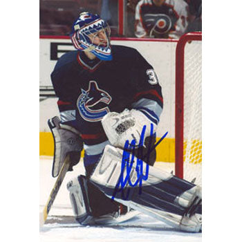Alex Auld Vancouver Canucks Autographed 4x6 Photo. This item comes with a certificate of authenticity from Autograph-Sports. PSM-Powers Sports Memorabilia
